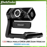 Model:M2200.12.0 Mega pixels PC Laptop CMOS USB Zoom Web Camera Webcam Free shipping