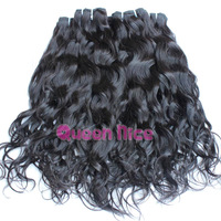 wholesale price product 10pcs/lot  1KG/Lot  Brazilian Natural Wave 100% Virgin Hair double weft natural 1b color fast delivery
