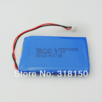 Genuine Maxrun LIP573450 3.7V 900mAh Li-Polymer Rechargeable Battery 1Pcs/Lot Free Shipping