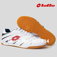 Soccer Shoes Indoor Football boots Athletic Training/Match Professional Flats leather  Free Shipping LT001