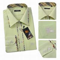 Free shipping! 2014 new arrival mens brand name sress shirts designer slim fit shirts M-XXL