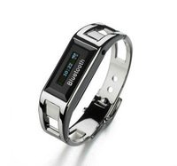 Bluetooth Bracelet With OLED Caller's ID /Time Display Vibrating LCD Watch Wrist