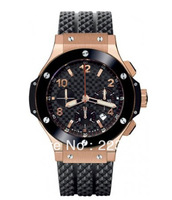 Free shipping luxury Automatic machine watch for men.Alloy WATCH-FACE+rubber watch hb1110-42