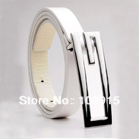 10pcs/lot New Mens womens Faux Leather G Shape Alloy Buckle Fashion Waistband Waist Belt Strap  JX0031
