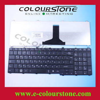 Free Shipping Original Laptop Keyboard  For Toshiba C650 Keyboard Replacement C650D C655 C655D L650 L650D RU Black 9Z.N4WSW.00R