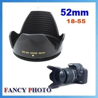 High Quality Flower Lens Hood 52mm 18-55 Lens for Nikon D3100 D3200 D5100 For Canon SX30 SX40