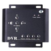 2CH Car Security DVR Mini DVR SD Video/Audio CCTV Camera Recorder, freeshipping, Dropshipping