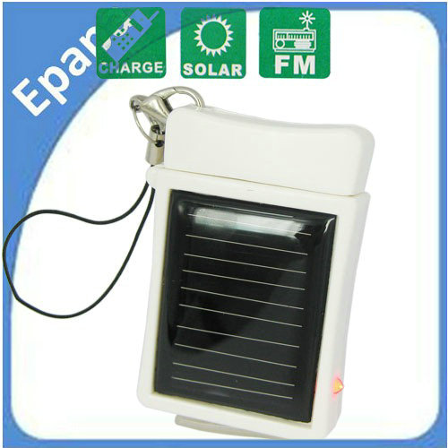 Wholesale 5 pcs / lot ! Portable Emergency Solar Charger for iPhone Interface with Chain(China (Mainland))