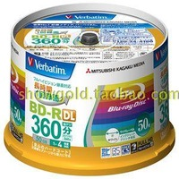 Original verbatim bd-r dl 50gb blu ray discs 50g printable disc plate  10 tablets