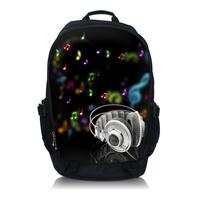 "Music 13"" 15"" 17"" Laptop Travel Sports Backpack bag School bags Rucksacks"