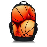 "Basketball 13"" 15"" 17"" Laptop Travel Sports Backpack bag School bags Rucksacks"