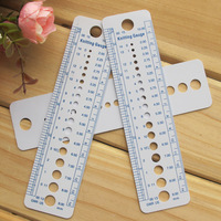 Knitted jonadab tools plastic ruler yarn needle sweater needle monumented caliper