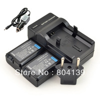 new 2 piece NP-FW50 FW50 Battery with Charger for Sony NEX-3 NEX-5 Alpha A33 A55 Camrea
