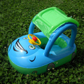 1pc baby sunscreen sun shelter car styling with steering wheel safe swimming ring have seat&free shipping&environment pvc(China (Mainland))