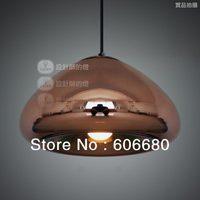 [ Designer lamps ] Tom Dixon void light glass tuba brass bowl chandelier