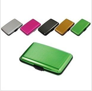 aluminum alloy credit card bag business card box  (CQ)