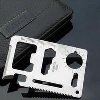 Large saber card lifebelts multifunctional card universal camping tool card holsteins 30g