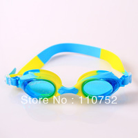 factory wholesale free shipping children kids silicone swimming goggles glasses