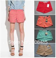Free Shipping Women Fashion Shorts Leasure Bootcut Short Pants Casual Wear Plus Size