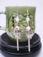541 tassel earrings diy vintage earrings hanfu cheongsam cos accessories costume earrings