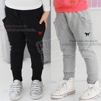 2013 spring boys clothing girls clothing baby child trousers breeched kz-1121