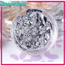 Grátis frete ouro especial e prata prego papel alumínio decore para Nail Art beleza Desgin acessórios produtos 12 jogos/lote