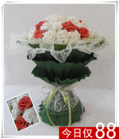 2013 New Gift Free shipping Jiayuan cartoon bouquet birthday wedding gift birthday gift girls to send wife