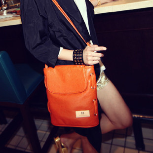Freeshipping Wholesale Designer Vintage Bucket Strap Bags(China (Mainland))