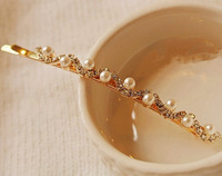 Elegant Pearl Wave Hairpin Bridal Accessories Headdress 068
