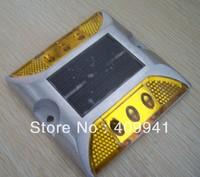 2*2pcs LED Solar Lamp or Solar Road Stud for SERCHING FOR STREET SIGNALISATION SOLAR FLOOR LED LIGHT YK1206