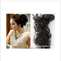 Free shipping updo clockwork spring twine hair style Rolls of curls hair extension
