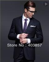 Design Men Suit Custom Made Suit  Slim Fit Men Suit  Black Suit Men Suit Elegant Suit Foctory Hot  2013 Groom suit  MS0246