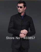 Design Men Suit Custom Made Suit  Slim Fit Men Suit  Black Suit Men Suit Elegant Suit Foctory Hot  2013 Groom suit  MS0247