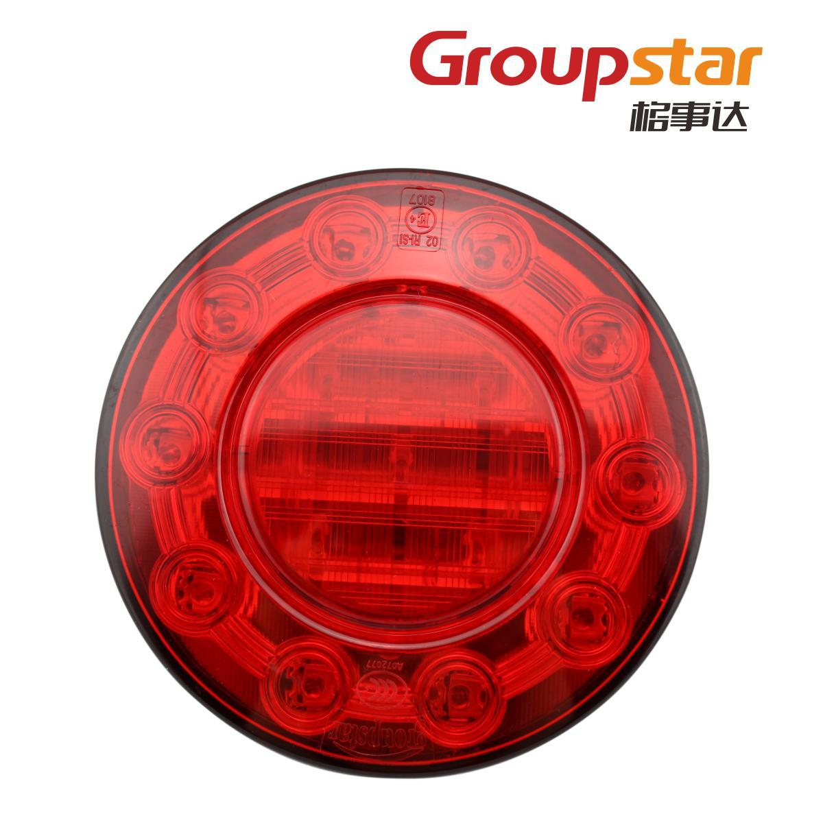Led trailer rear light truck trailer fire truck waterproof steering lamp reversing light 3c(China (Mainland))