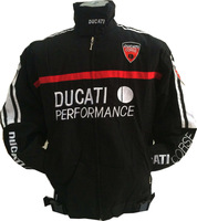 Winter  motorcycle cotton  black jacket  , narscar racing jacket  for ducati