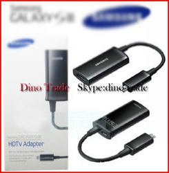 MHL Micro USB to HDMI Cable Adapter HDTV for Samsung Galaxy S4 I9500 S3 III i9300 Note2 N7100 10pcs/lot(China (Mainland))