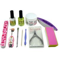 Free shipping New arrival Nail art supplies toiletry kit nail art nail polish oil repair nail art set