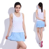 Yoga clothes set outside fitness sport badminton sleeveless short skirt yoga clothing