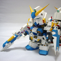 2013 new arrive Free shipping paper model 18cm tall  SD RX-78-4GUDAM G04 two colors for chose/3d paper puzzle for anime fans