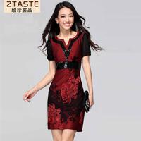 Ztaste2013 fashion plus size clothing one-piece dress slim one-piece dress 28