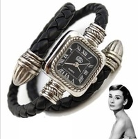 Wholesale Snake Style fashion Roma Vintage Women bracelet watch.TOP quality.Free shipping.