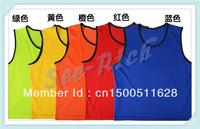 Factory price! Men's&Women's Professional Football team training vest 100% Polyester #SR-FJ02 Multicolor Free shipping