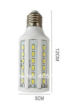 Newest Freeshipping 1pc E27/E14/B22 15W 60 LED 5730 SMD corn light Warm White/ Cool White led Bulb Lamp 220V/110V(option)