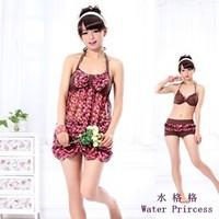 Female sexy fashion swimwear hot spring swimsuit swimwear bikini water s002