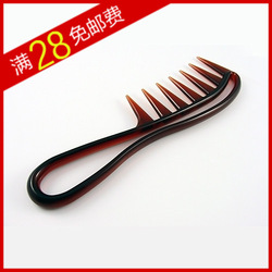 Wire 28 big wave curly hair comb isconvoluting personalized elastic Medium comb(China (Mainland))