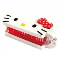 Stylish Hello Kitty Makeup Set Comb and Mirror Foldable Set