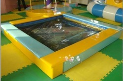 Child amusement equipment naughty fort naughty fort naughty fort electric indoor playground pool(China (Mainland))