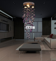 Free Shipping Modern Crystal Ceiling Light Hanging Lamp for Wedding Centerpieces Decoration