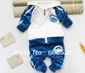 Wholesale children&#39;s clothing Spring and Autumn new baby velvet suit