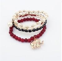 Min. order is $15(can mix)/New arrival Rhinestone bracelets ,Bohemia Elastic Elephant jewelry,fashion bracelets&banges